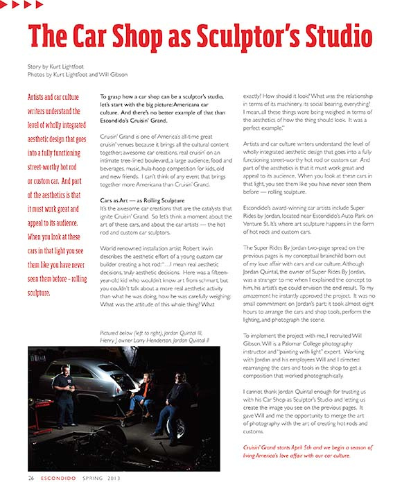 The Car Shop as Sculptor's Studio article 580w
